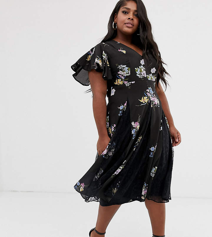 b159e0fc207ed Lace Asos Curve Dress - ShopStyle