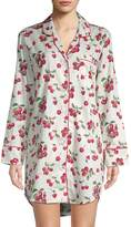 BedHead Women's Cherry-Print Cotton Sleepshirt