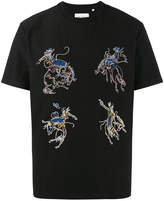 Our Legacy Rodeo Embroidered Cotton T-Shirt