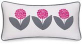 Echo Design Lucy Bloom Floral Oblong Pillow