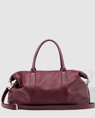 Louenhide - Women's Red Weekender - Alexis Weekender Bag - Size One Size at The Iconic