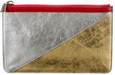Proenza Schouler Tricolor Leather Clutch