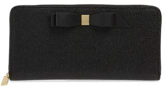 Ted Baker Aine Bow Leather Wallet