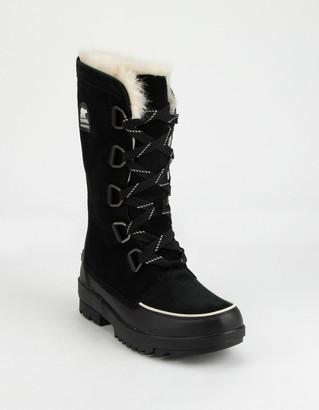 Sorel Tivoli IV Womens Tall Black Boots