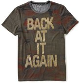 GUESS Short-Sleeve Back At It Again Graphic T-Shirt