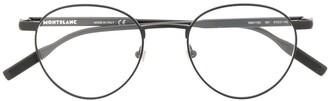 Montblanc Matte Round-Frame Glasses