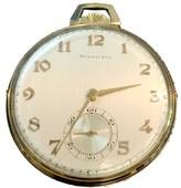 Tiffany & Co. 14K Yellow Gold 46mm Mens Pocket Watch