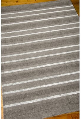 Calvin Klein Sahara Striped Handwoven Flatweave Anvil Area Rug