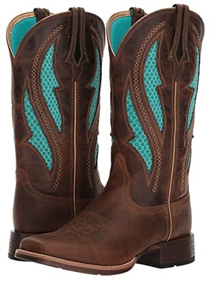 Ariat Venttek Ultra (Distressed Brown/Silly Brown) Cowboy Boots