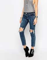 Glamorous Skinny Jeans With Ripped Knees