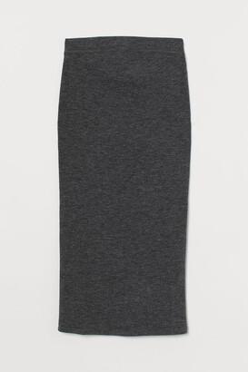 H&M MAMA Ribbed skirt