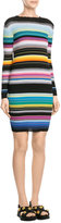 Missoni Stripped Knit Cotton-Blend Dress