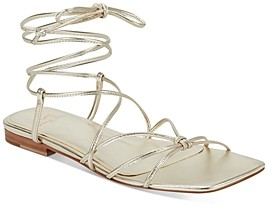 Marc Fisher Women's Marina Lace Up Strappy Sandals