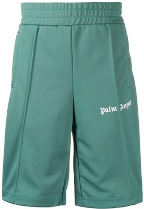 Palm Angels Side-Stripe Track Shorts
