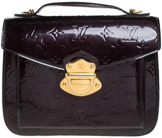 Louis Vuitton Rouge Fauviste Monogram Vernis Mirada Bag