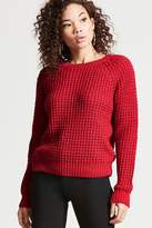 Forever 21 Waffle-Knit Sweater