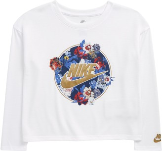 Nike Kids' Long Sleeve Graphic Tee