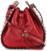 Valentino rockstud bucket bag - women - Leather/metal - One Size