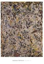 "McGaw Graphics Number 9, 1949 by Jackson Pollock 30""x23"" Art Print Poster"