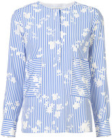 Altuzarra striped butterfly shirt