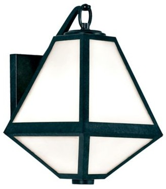 Crystorama Glacier White Glass Outdoor Sconce