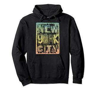 New York City Graffity Retro Urban Streetwear Vintage Gift Pullover Hoodie