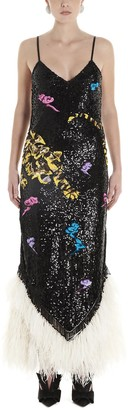 ATTICO Sequinned Maxi Dress
