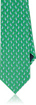 Salvatore Ferragamo Men's Duck-Print Silk Necktie