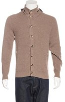 Brunello Cucinelli Cashmere Hooded Cardigan