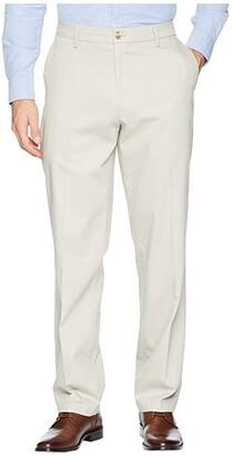 Dockers Classic Fit Signature Khaki Lux Cotton Stretch Pants D3 (Timber Wolf) Men's Casual Pants