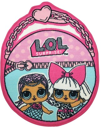 L.O.L. Surprise! Handbag Shaped Rug