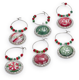 Sur La Table Holiday Wine Charms