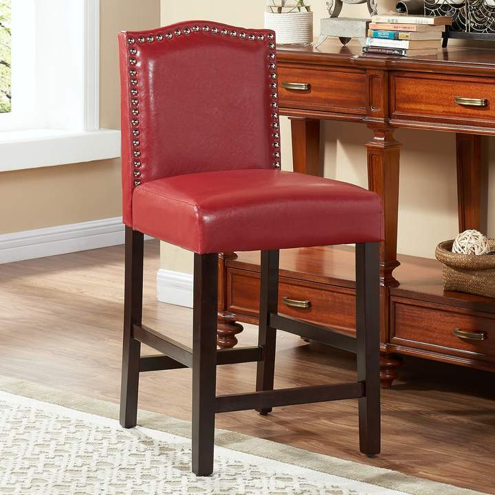 Fantastic Nailhead Stool Shopstyle Onthecornerstone Fun Painted Chair Ideas Images Onthecornerstoneorg