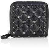 Valentino Women's Rockstud Spike French Leather Wallet