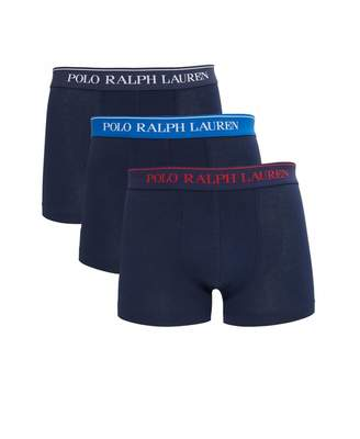 Polo Ralph Lauren Three Pack Of Boxer Shorts Colour: NAVY, Size: SMALL