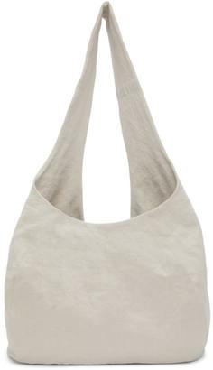 LAUREN MANOOGIAN Beige Post Bag