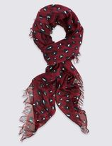 Marks and Spencer Splodge Animal Print Scarf