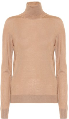 Jil Sander Cashmere-blend turtleneck sweater
