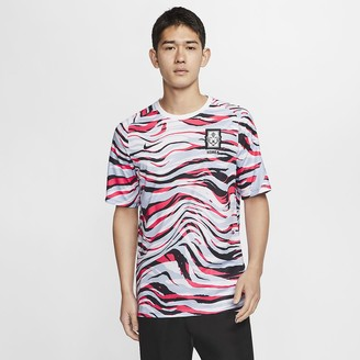 Nike Men's Short-Sleeve Soccer Top Korea