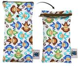 Bed Bath & Beyond Planet Wise Wipes Pouch in Monkey Fun
