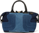 See by Chloe Kay small denim patchwork tote