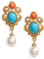Ben-Amun Women's Adriatic Sea Drop Earrings