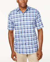 Tasso Elba Men's Plaid Shirt, Only at Macy's