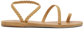 Ancient Greek Sandals Beige Eleftheria Sandals