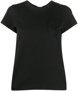 Sacai contrasting rear T-shirt