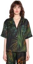 Alanui Printed Cotton & Silk Bowling Shirt