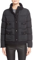 Moncler Women's 'Naimi' Water Resistant Short Duchesse Down Jacket