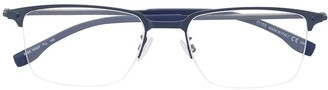 BOSS Square Frame Glasses