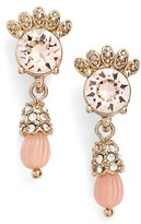 Marchesa Women's Sheer Bliss Small Drop Earrings