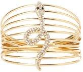 Charlotte Russe Crystal Caged Snake Bracelet